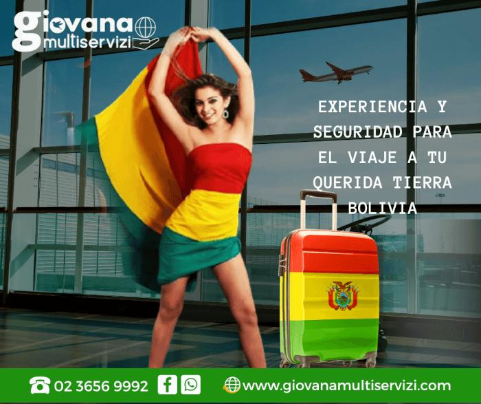 vuelos para Bolivia